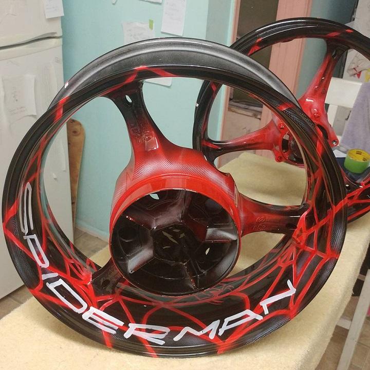 Custom Painted Wheels