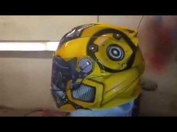 Bumblebee Inspired Custom Paint Job