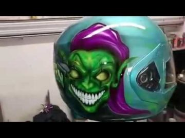 The Goblyn Inspired Airbrushed Helmet